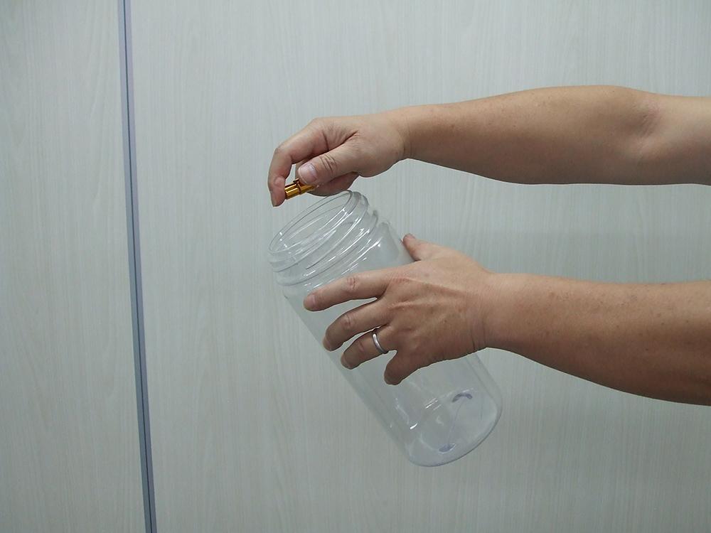 アンモニア消臭実験 3プッシュ