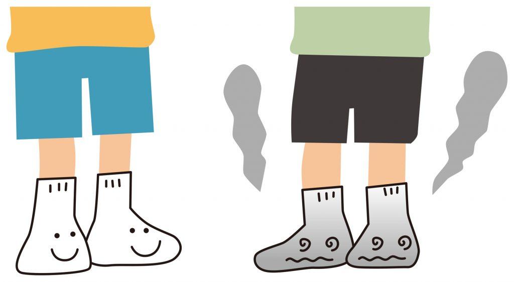 靴下の臭い